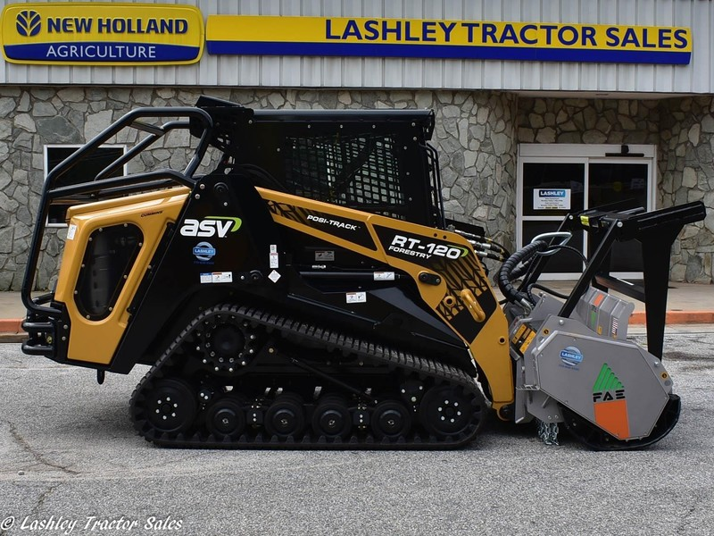 2019 ASV RT-120 Forestry Skid Steer - Lithonia, Georgia