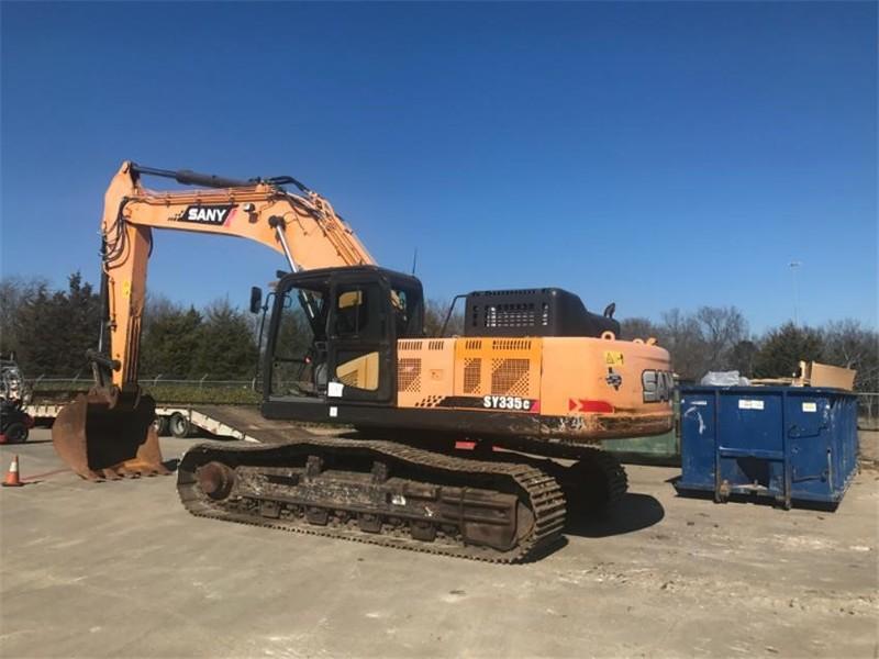 2014 Sany SY335C Excavators and Mini Excavator