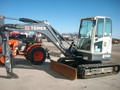 Terex TC50 Excavators and Mini Excavator