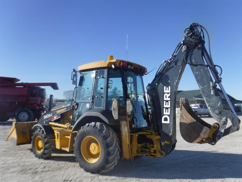 2010 Deere 310SJ Backhoe