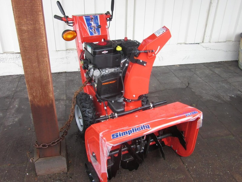Used Simplicity Snow Blowers for Sale | Machinery Pete