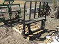 2011 HLA Bale Fork Loader and Skid Steer Attachment
