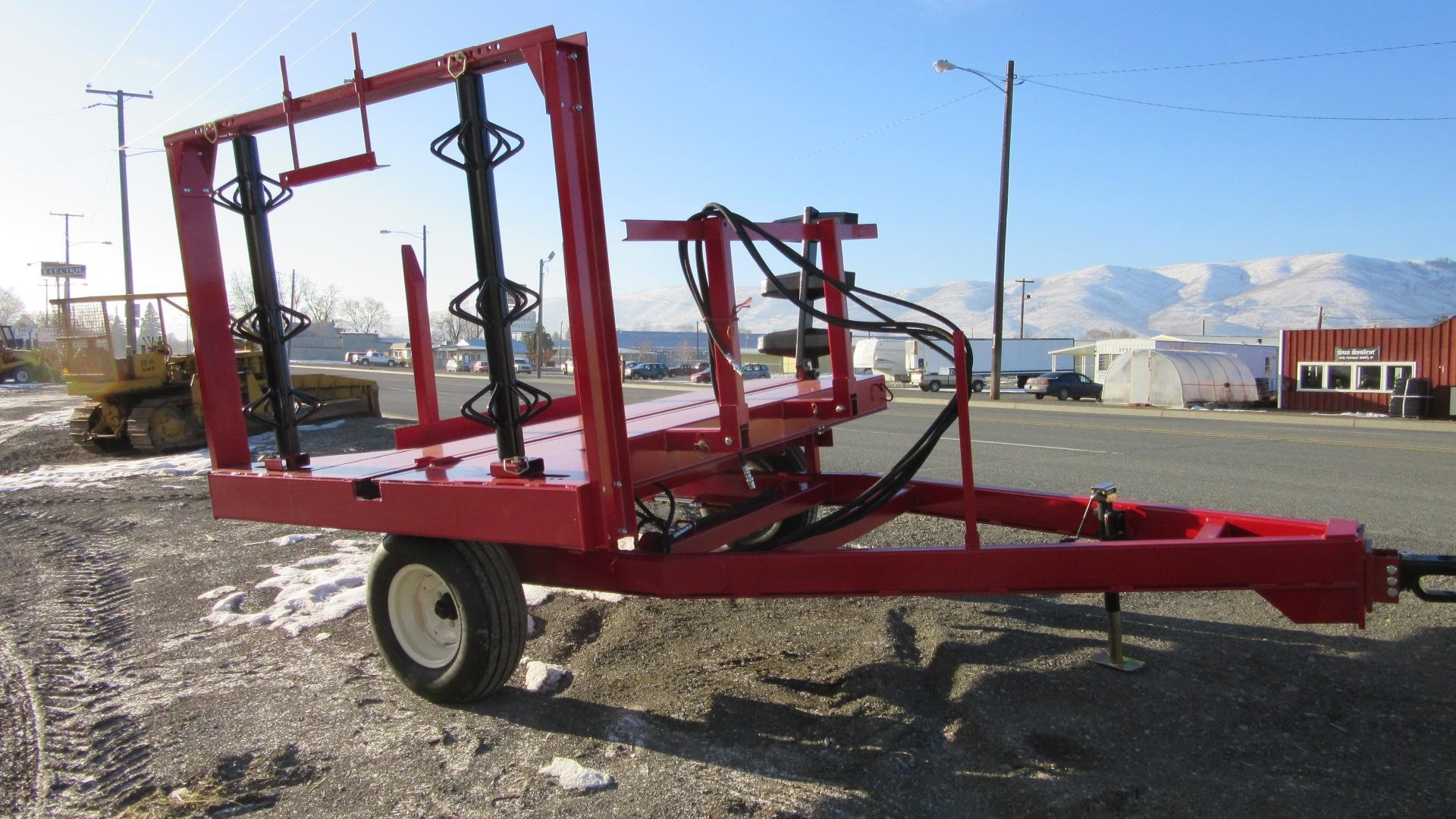 Robbco Fodder Flaker Feeder Feed Wagon