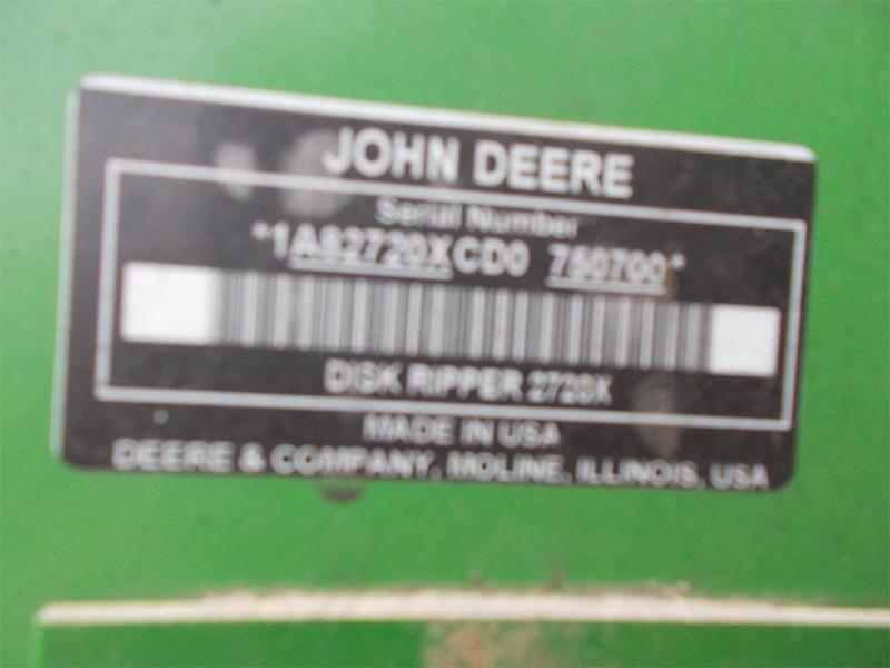 2013 John Deere 2720 Disk Chisel
