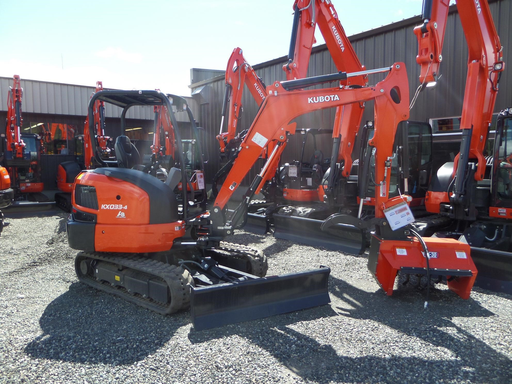 2021 Kubota KX033-4 Excavators and Mini Excavator