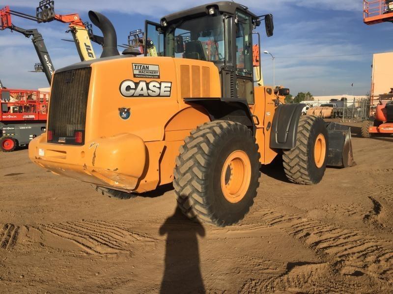 2015 Case 821F Wheel Loader