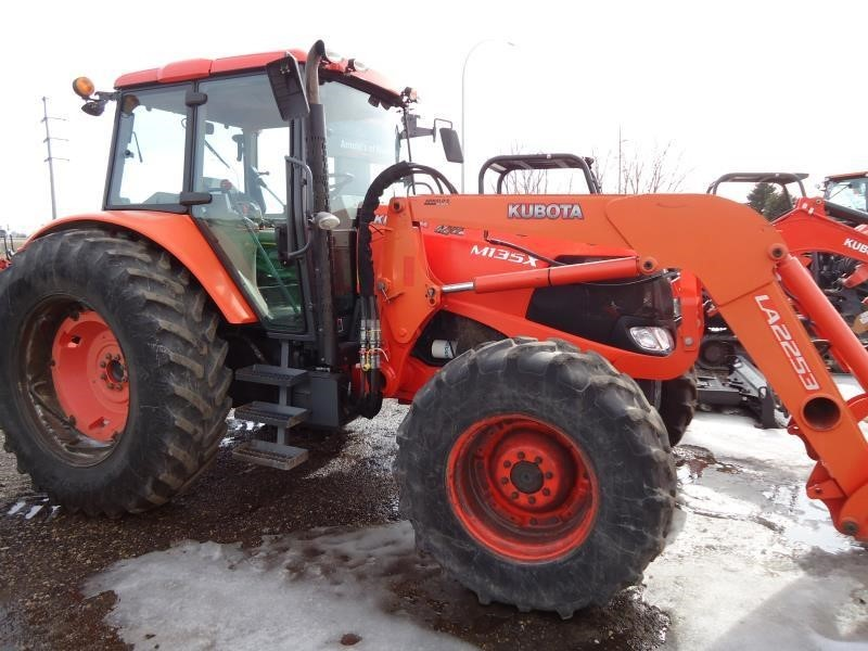 2011 Kubota M135X Tractor