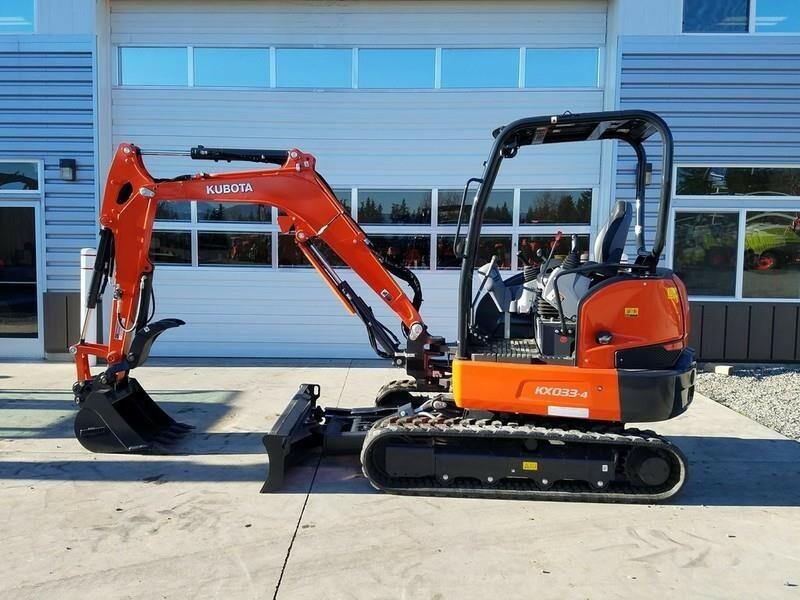 2020 Kubota KX033-4 Excavators and Mini Excavator