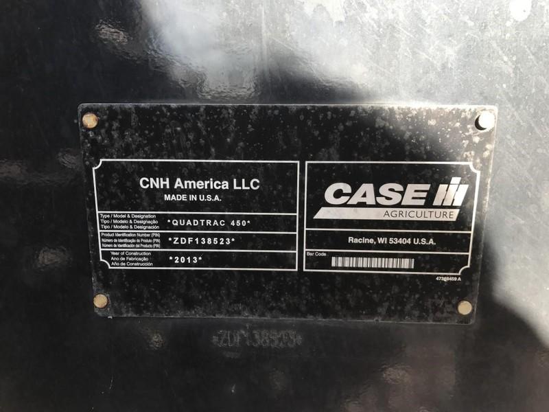 2014 Case IH Steiger 450 QuadTrac Tractor