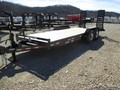 "2018 Mustang 83"" X 18' (16' PLUS 2') BP FLATBED TRAILER Flatbed Trailer"
