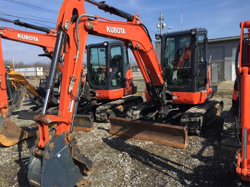 Used Kubota U55-4 Excavators and Mini Excavators for Sale