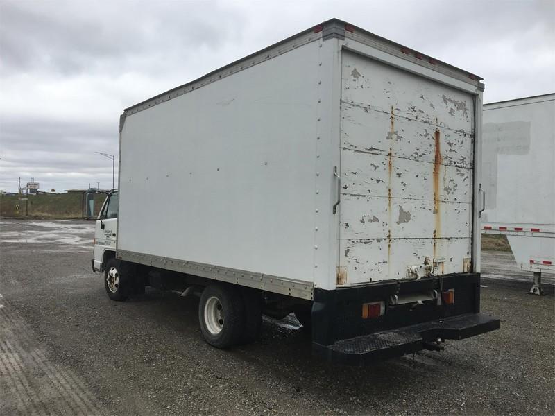 1992 Isuzu NPC7SF Semi Truck