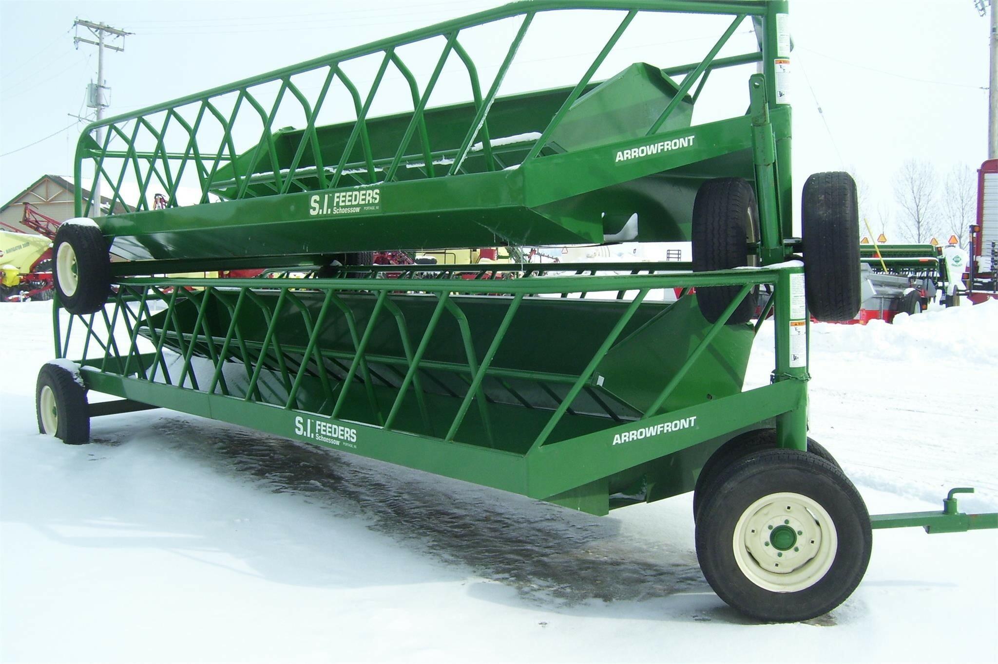 2021 S.I. Feeders AF20 Feed Wagon