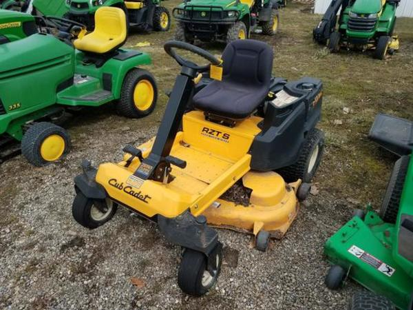 2012 Cub Cadet Z-Force S54 Lawn and Garden