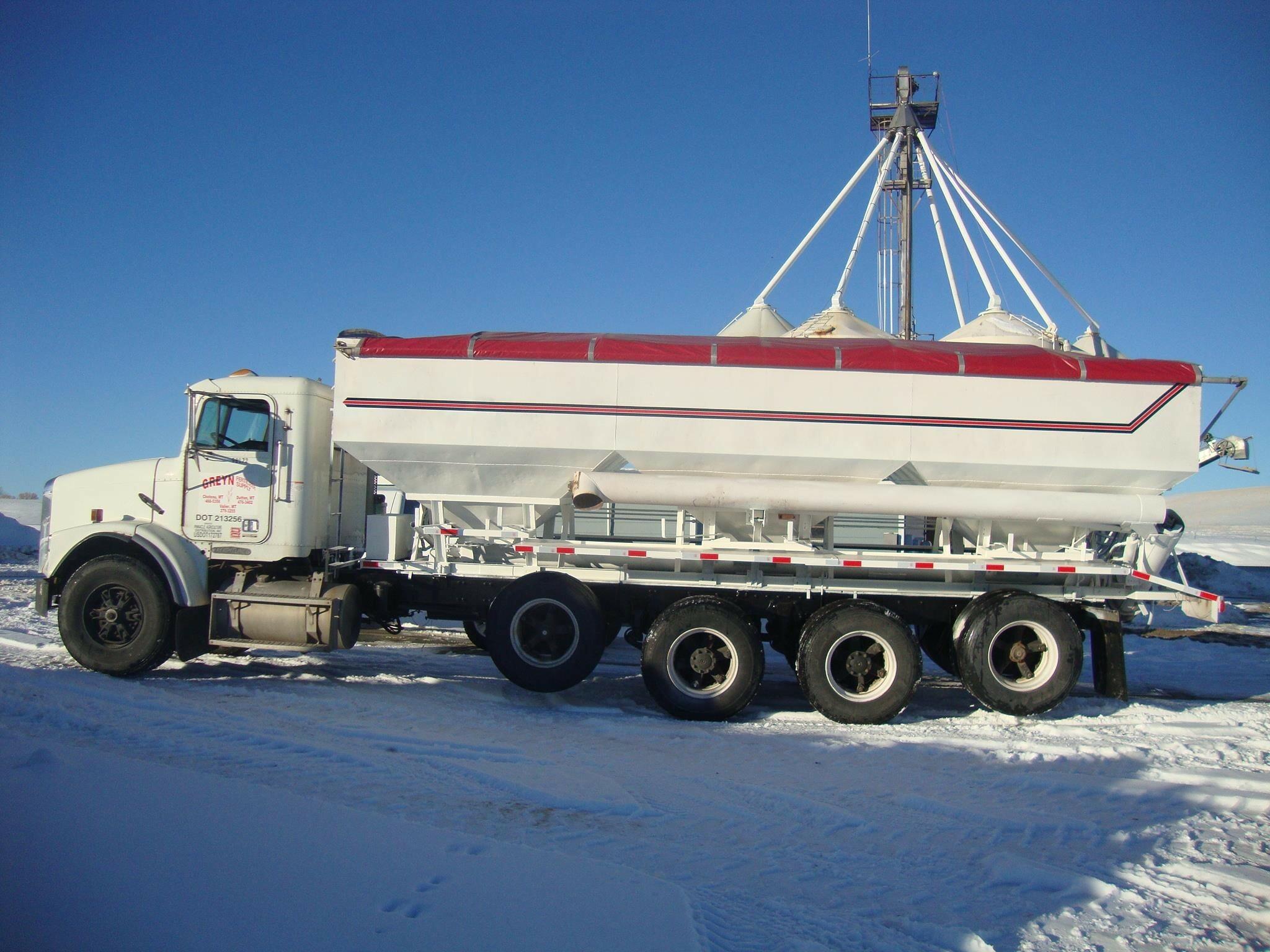 1996 Freightliner FLC120 Grain Truck