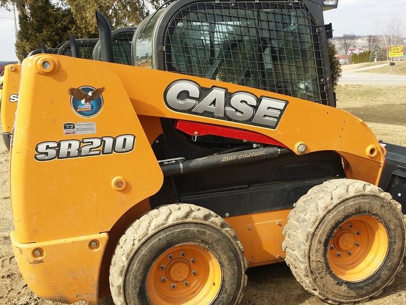 2014 Case SR210 Skid Steer