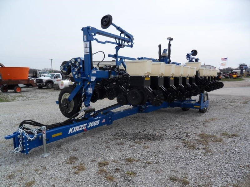 2018 Kinze 3600 Planter West College Corner Indiana Machinery Pete