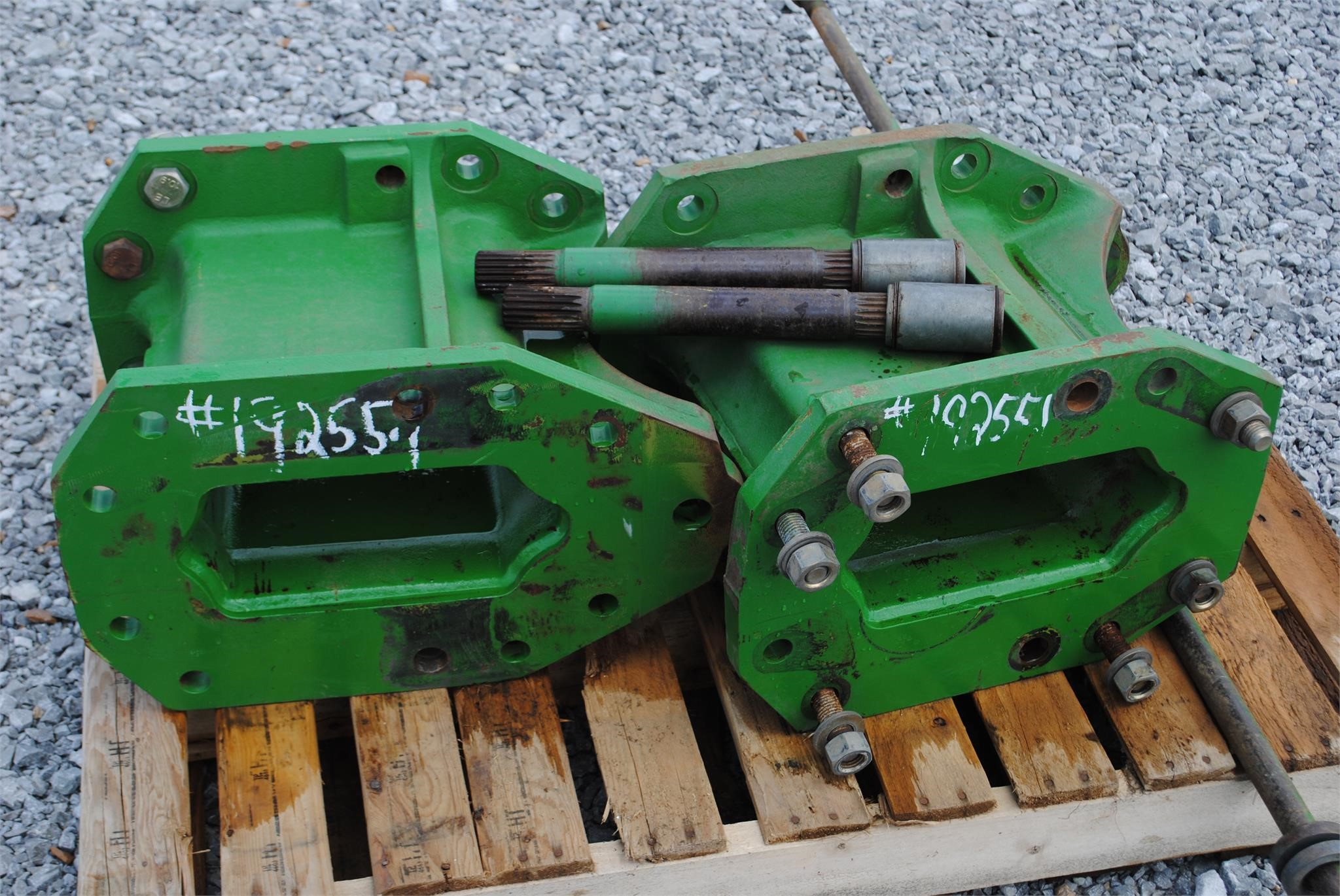 "John Deere 16"" Axle spacers Miscellaneous"