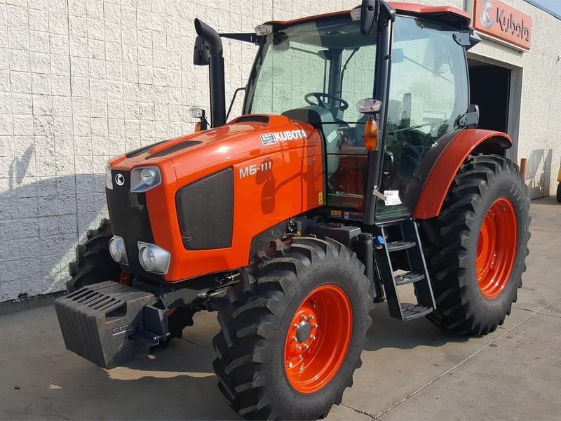 2017 Kubota M6-111 Tractor