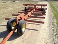2002 Pequea 646 Bale Wagons and Trailer