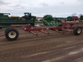 1997 H & S BT8 Bale Wagons and Trailer