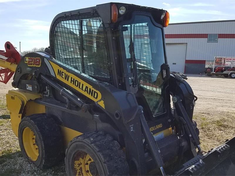 2012 New Holland L218 Skid Steer