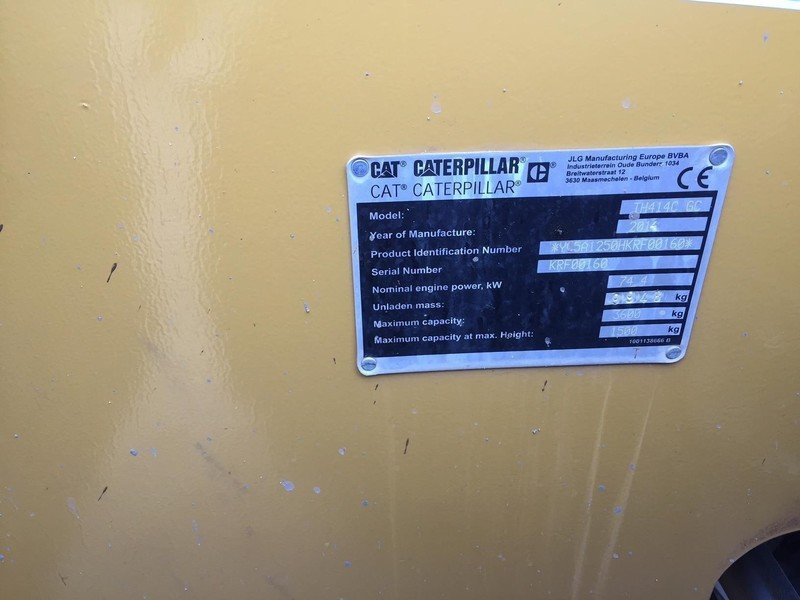 2014 Caterpillar TH414C GC Telehandler