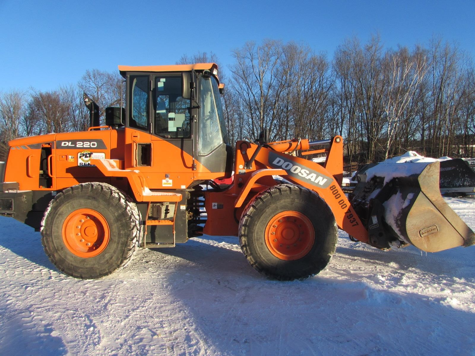 2013 Doosan DL220 Wheel Loader