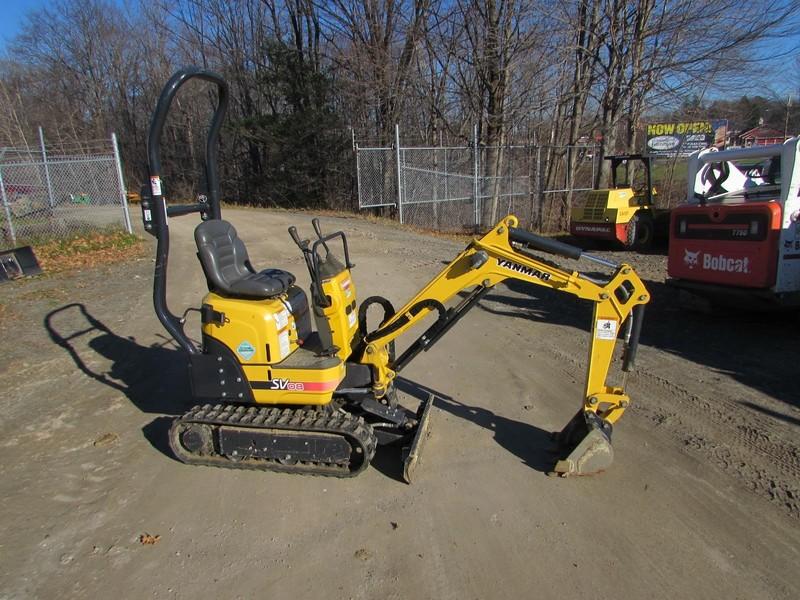 2013 Yanmar SV08-1A Excavators and Mini Excavator
