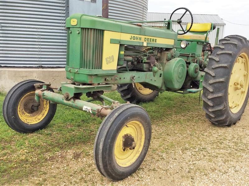 1958 John Deere 520 Tractor