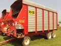 2002 H & S Twin Auger HD Forage Wagon