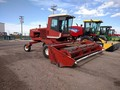 1984 Hesston 6550 Self-Propelled Windrowers and Swather