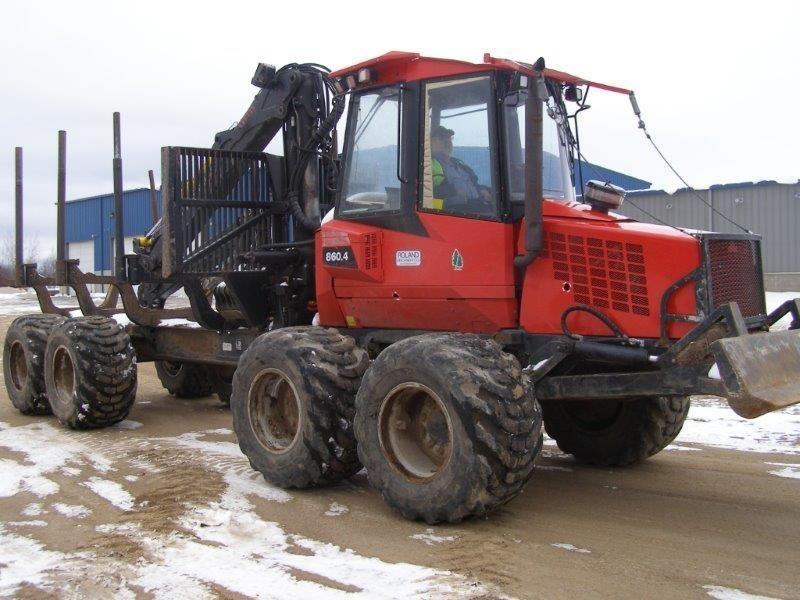 2011 Valmet 860.4 Forestry and Mining