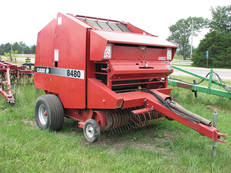 New to us | case ih 8480 baler youtube.