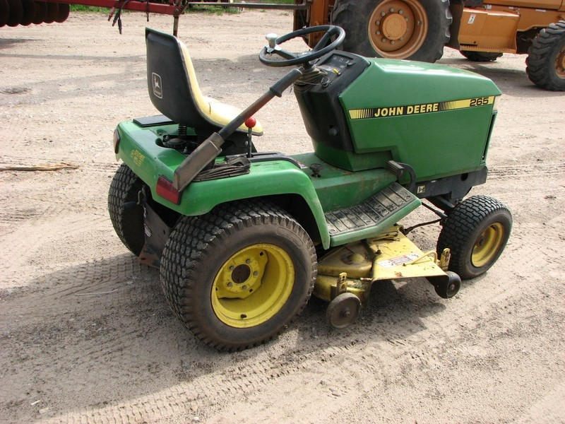 John Deere 265 Lawn And Garden For Sale Machinery Pete. John Deere 265 Lawn And Garden. John Deere. 1993 John Deere 430 Wiring Diagram At Scoala.co
