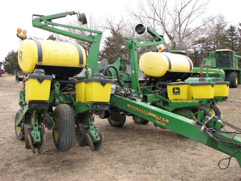 2000 John Deere 1760 Planter Norfolk Nebraska Machinery Pete