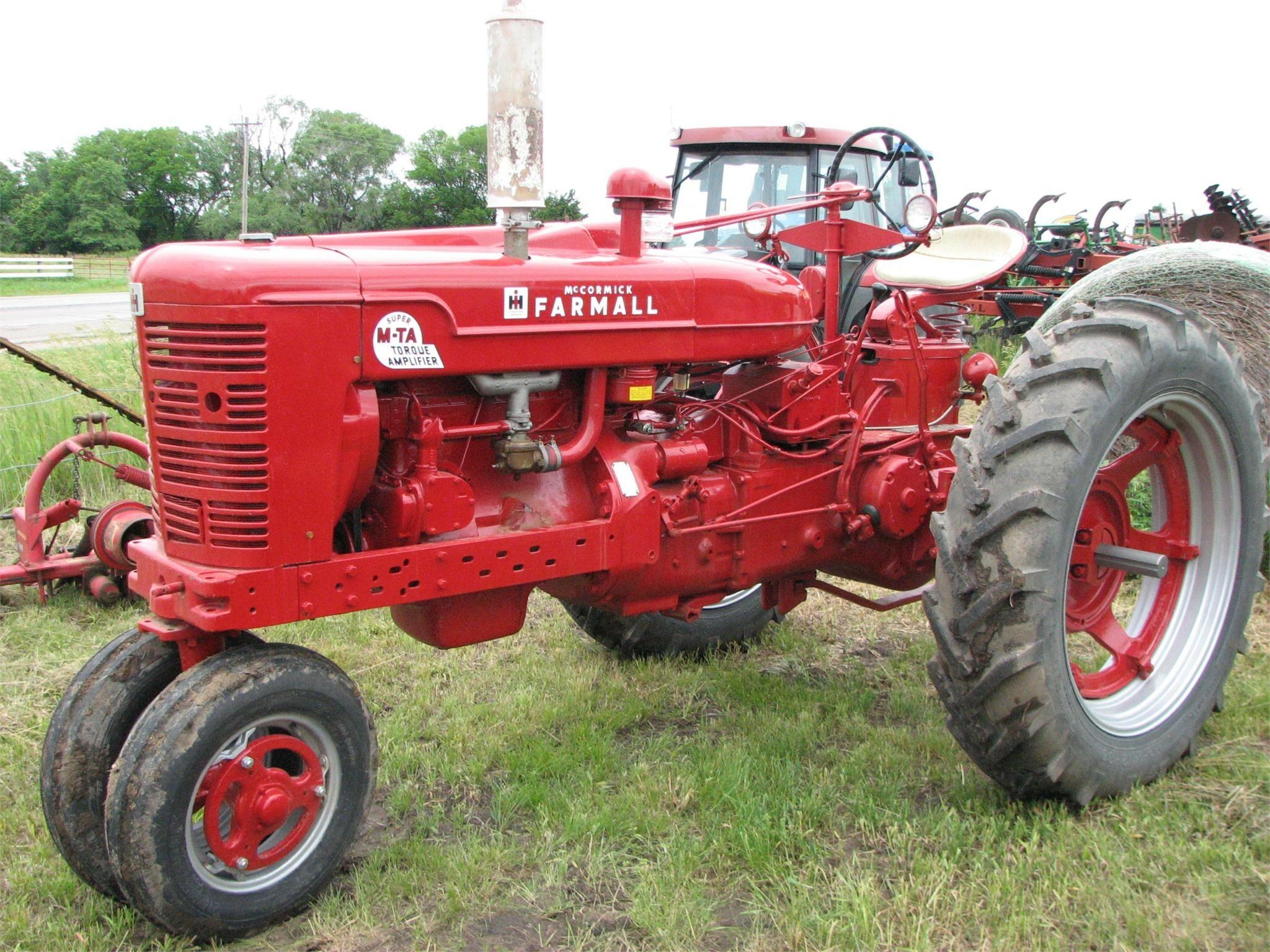 1954 Farmall Super M-TA Tractor