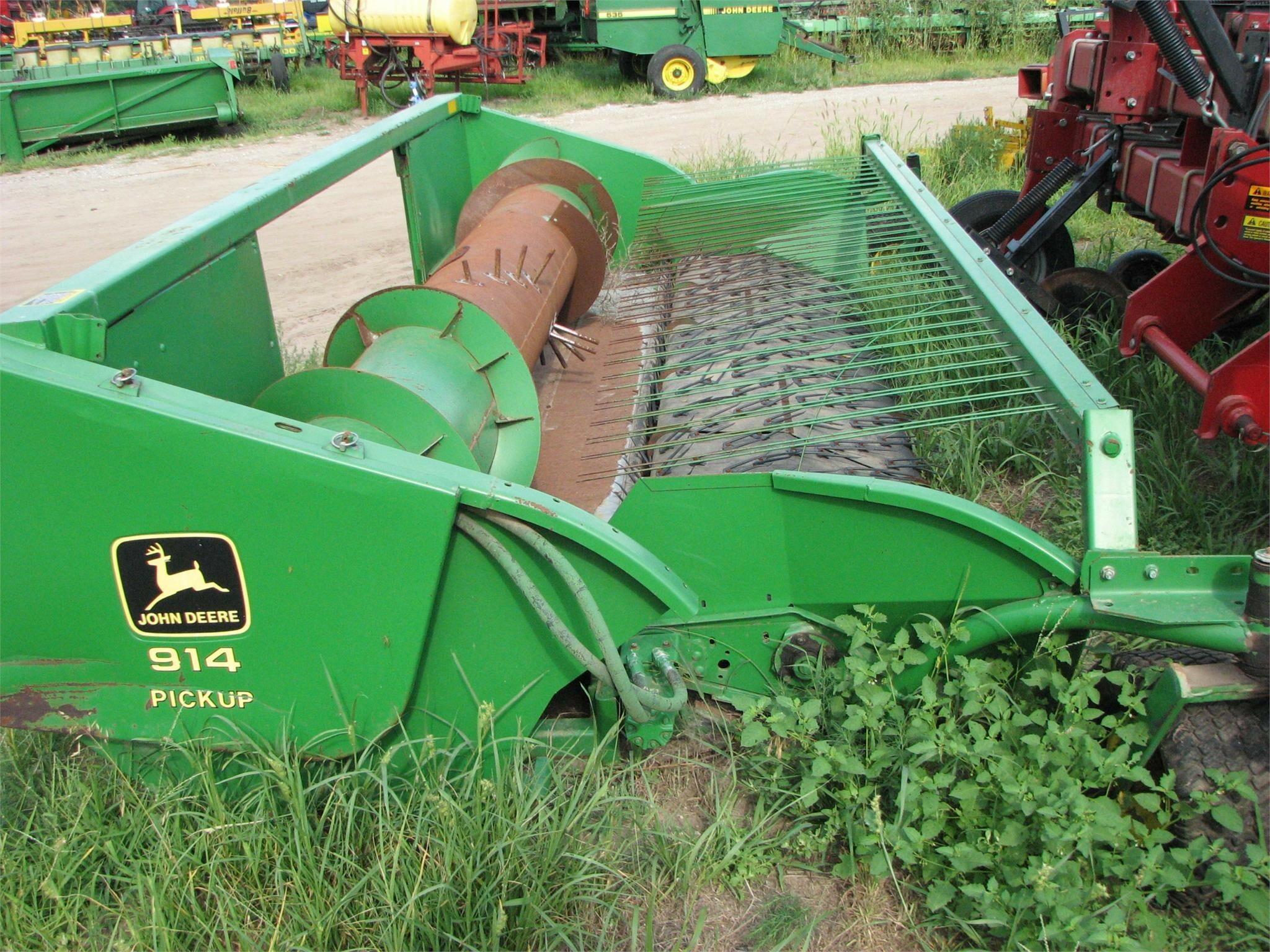 1996 John Deere 914 Forage Harvester Head
