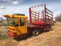 1990 New Holland 1068 Bale Wagons and Trailer