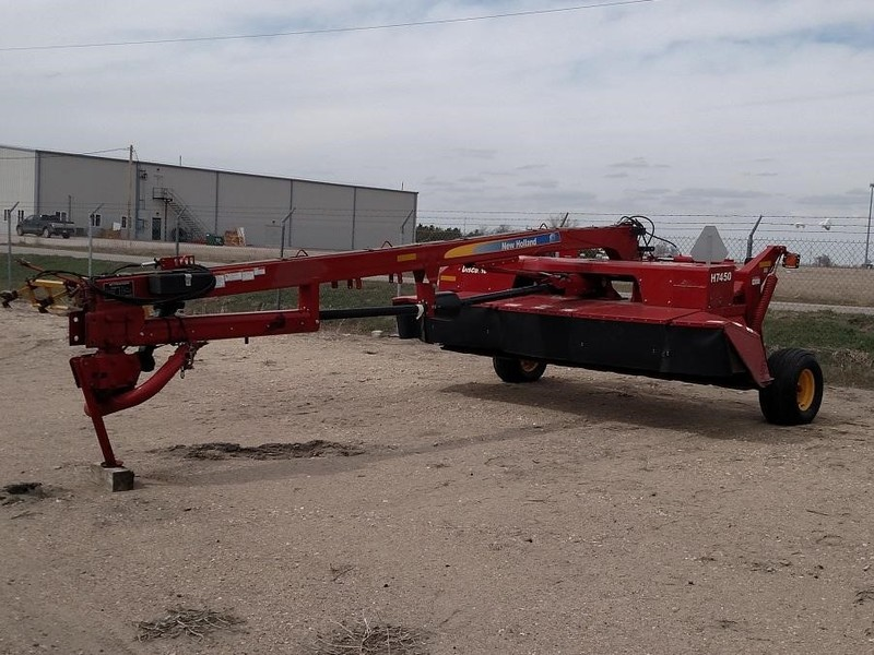 Used New Holland H7450 Mower Conditioners for Sale