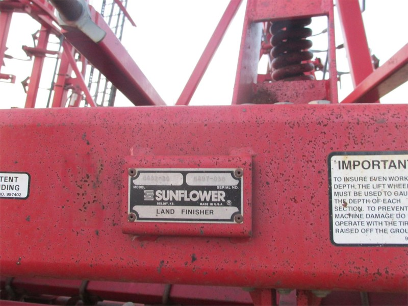 1997 Sunflower 6432-36 Soil Finisher