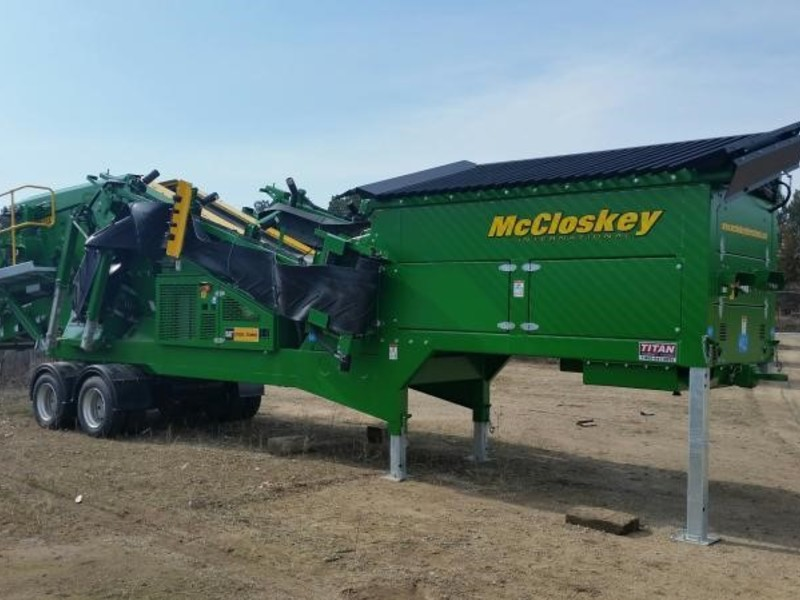 2016 McCloskey S80 Miscellaneous