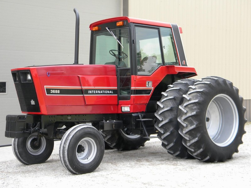 1983 international harvester 3688 tractor martinsville indiana