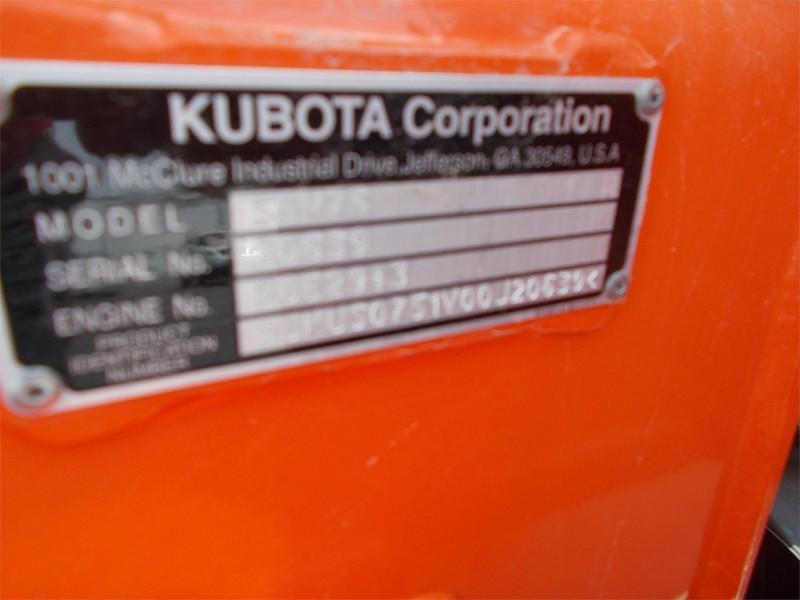 2016 Kubota SSV75 Skid Steer