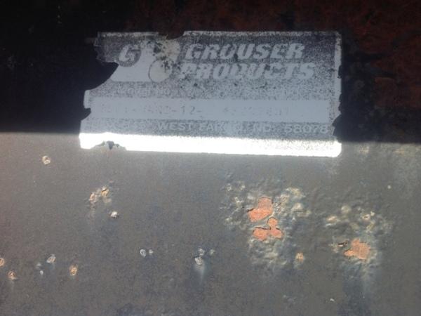 2008 Grouser FH400 Blade