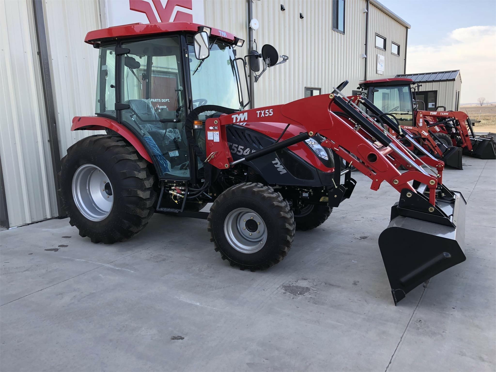 2018 TYM T554HST Tractor