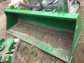 2016 John Deere 8' Bucket Loader and Skid Steer Attachment