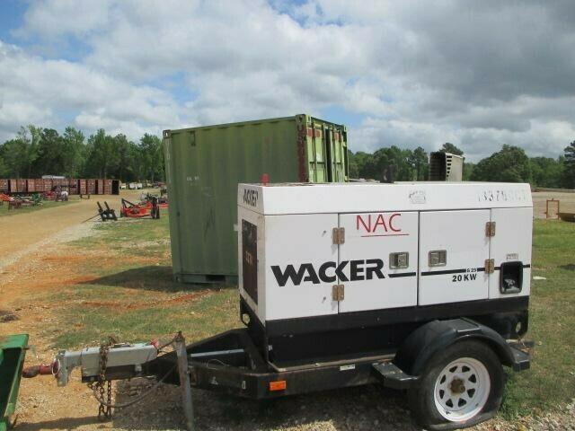 2005 Wacker Neuson G25 Generator