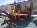 1980 New Holland 1034 Bale Wagons and Trailer