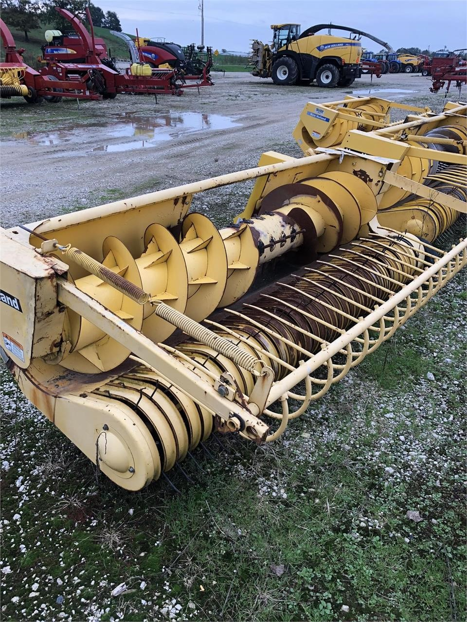 2005 New Holland 29P Pull-Type Forage Harvester